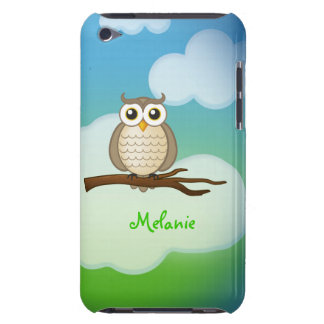Personalizable Cute Owl  iPod Touch iPod Case-Mate Cases