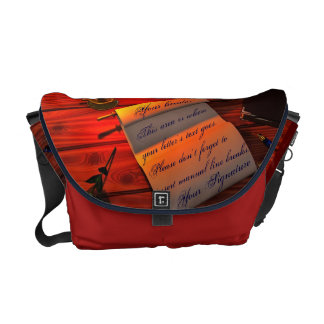 Personalizable Handwritten Letter Courier Bags
