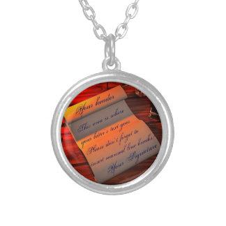 Personalizable Handwritten Letter Necklace