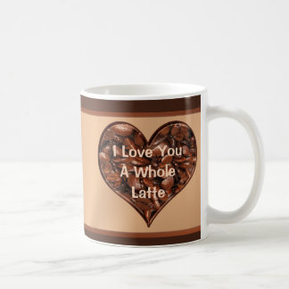 Personalizable I Love You a Whole Latte Mug