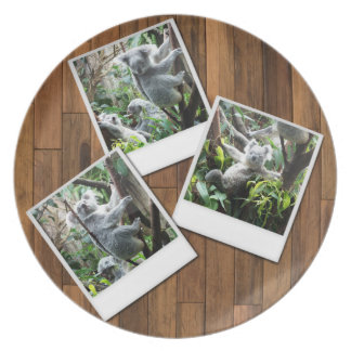 Personalizable Instant Multi Photo Frame Plate