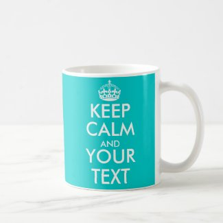 Personalizable Keep Calm Mug