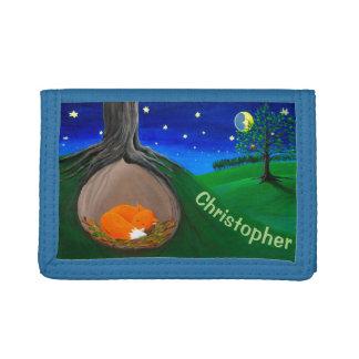 Personalizable Kids Wallet | Little Fox Wallet