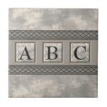 Personalizable Marble Monogram