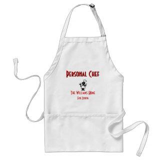 Personalizable Personal Chef Apron
