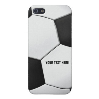 Personalizable Soccer - Football background Case For iPhone 5/5S