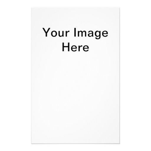 Personalizational Mall Template Stationery Paper