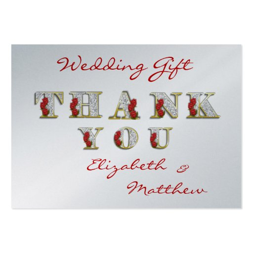Business thank you card template personalize 100 thank you cards business card template zazzle reheart Image collections