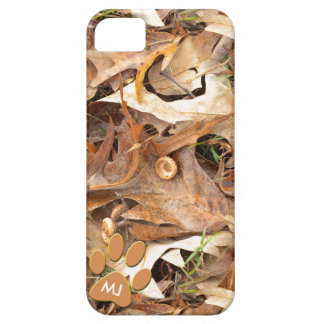 Personalize:  Abstract Nature Picture Autumn Camo iPhone 5 Cover