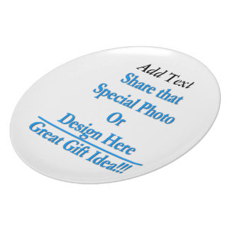 """(Personalize) Add """"Your"""" personal touch. Plate"""