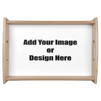 (Personalize) Add your personal touch. Serving Platters