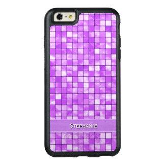 Personalize: Amethyst Decorative Tile Pattern OtterBox iPhone 6/6s Plus Case