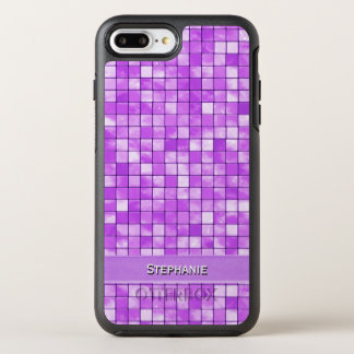 Personalize: Amethyst Decorative Tile Pattern OtterBox Symmetry iPhone 7 Plus Case