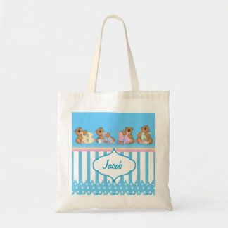 Personalize Baby Boy Tote Bags
