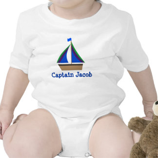 Personalize Baby s Name Nautical Infant Bodysuit