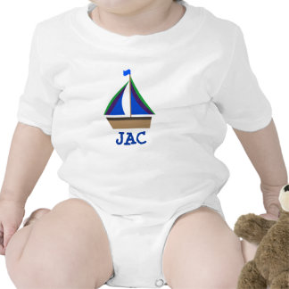 Personalize Baby's Initials or Name Bodysuit