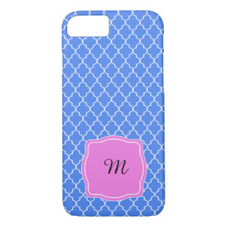 Personalize Baroque Pattern with Monogram or Name iPhone 7 Case