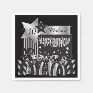 Personalize Birthday Party Napkins Disposable Napkin