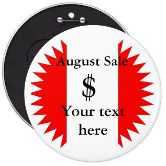 PERSONALIZE BUSINESS 6 CM ROUND BADGE