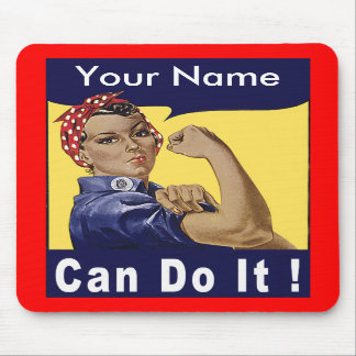 Personalize - Can Do It! Mousepad