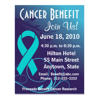 Personalize Cancer Benefit  - Ovarian Cancer Flyer