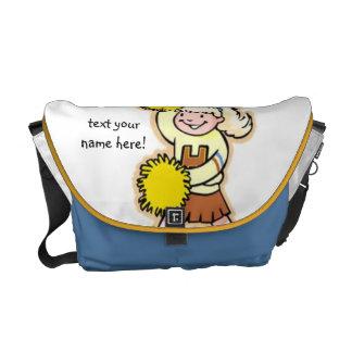 Personalize Cheerleader Rickshaw Messenger Bag