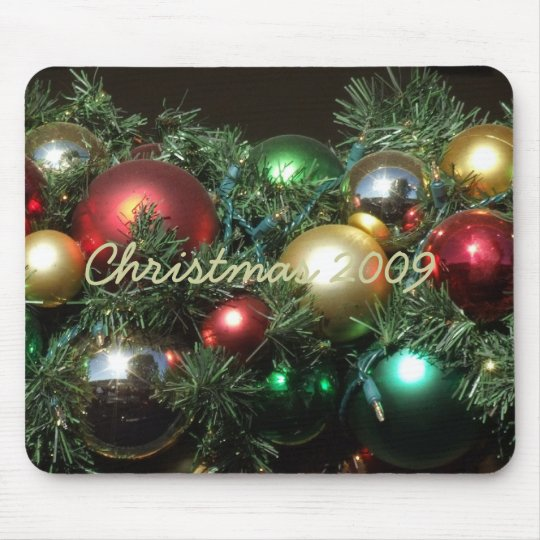 PERSONALIZE CHRISTMAS MOUSE MAT