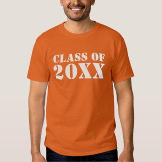 Personalize Class of 20XX Graduation T-shirts