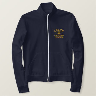 Personalize Coach Your Name Your Game! Embroidered Jacket