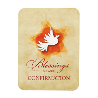 Personalize Confirmation Congratulations Gift Coll Rectangular Photo Magnet