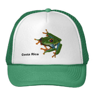Personalize Costa Rica Red Eyed Frog Cap