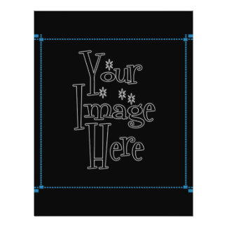 ♪♫♪ PERSONALIZE - CREATE YOUR OWN 21.5 CM X 28 CM FLYER