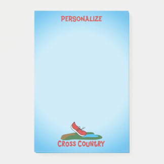 Personalize Cross Country © Post-it Notes