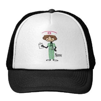 Personalize Female Nurse Trucker Hats