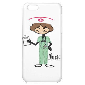 Personalize Female Nurse Case For iPhone 5C