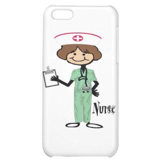 Personalize Female Nurse Case For iPhone 5C