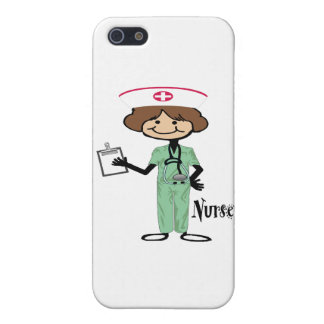 Personalize Female Nurse Case For iPhone 5/5S