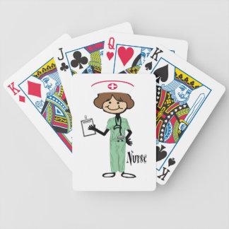 Personalize Female Nurse Card Deck