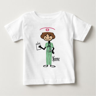Personalize Female Nurse T Shirt