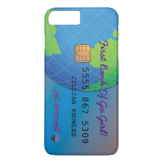 Personalize First Divorce Credit Card iPhone 7 Plus Case