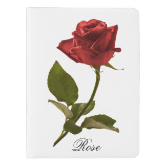 Personalize:  Floral Photography - One Red Rose Extra Large Moleskine Notebook