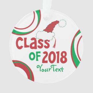 Personalize Funny ©Class 2018 Grad Tassel Ornament