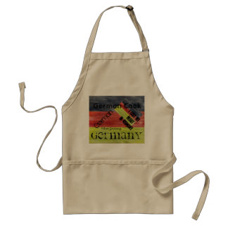 Personalize - German Distressed Flag - Germany Standard Apron
