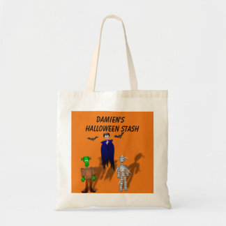 Personalize Halloween Stash Tote
