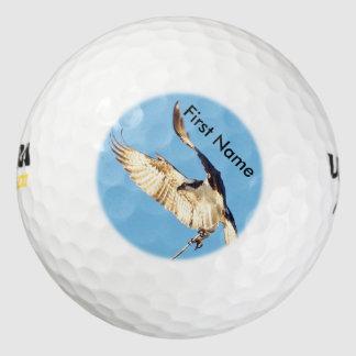 Personalize hawk osprey Golf Balls