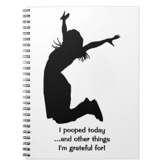 Personalize I Pooped Today with a Name Unique Gift Notebooks