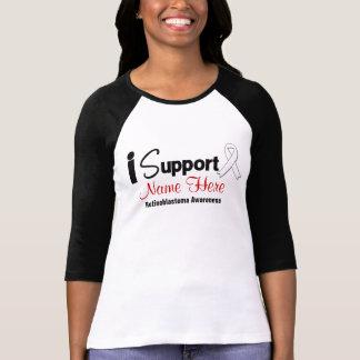 Personalize I Support Retinoblastoma Awareness Tshirt