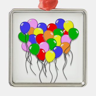 Personalize It - Bunch of Balloons Christmas Ornament