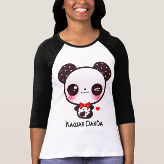 Personalize Kawaii panda T-Shirt