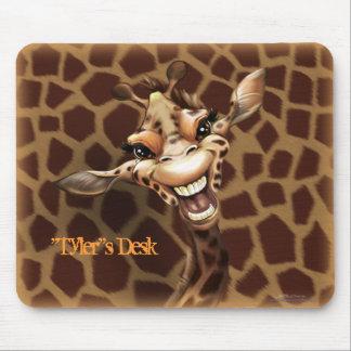 """Personalize me!"" Giraffe Mouse Mat"